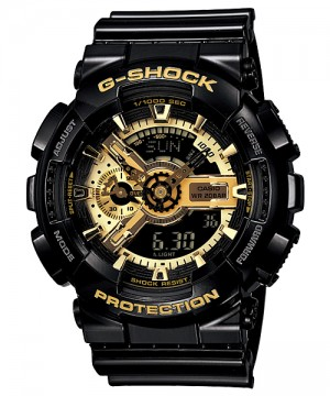 Ceas Casio G-Shock GA-110GB-1A GARISH BLACK COLLECTION (GA-110GB-1AER) oferit de magazinul Japora