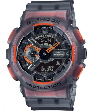 Ceas barbatesc Casio G-Shock GA-110LS-1AER Semi-transparent Series - fluorescent