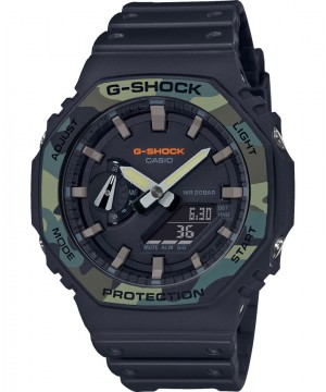 Ceas barbatesc Casio G-Shock GA-2100SU-1AER Carbon Core Guard