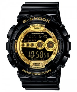 Ceas Casio G-Shock GD-100GB-1 GARISH BLACK COLLECTION (GD-100GB-1ER) oferit de magazinul Japora