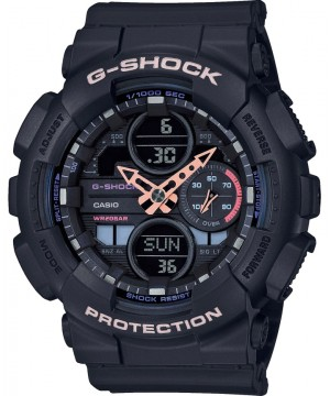 Ceas dama Casio G-Shock GMA-S140-1AER Analog-Digital