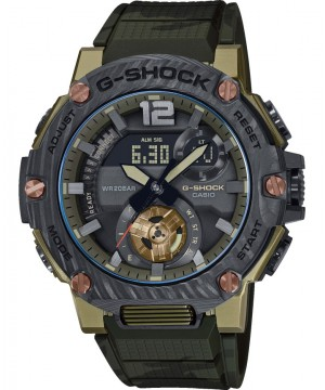 Ceas barbatesc Casio G-Shock GST-B300XB-1A3ER Bluetooth Tough Solar G-STEEL Sapphire Crystal Carbon Bezel