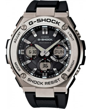 Ceas Casio G-Shock GST-W110-1AER MultiBand 6 Tough Solar G-STEEL