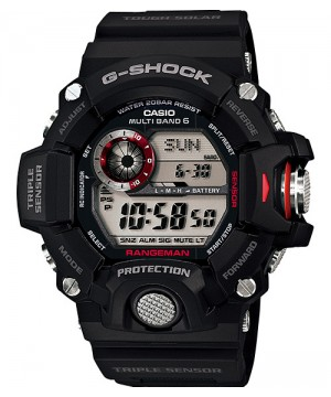Ceas barbatesc Casio G-Shock GW-9400-1ER RANGEMAN MultiBand 6 Triple Sensor Tough Solar