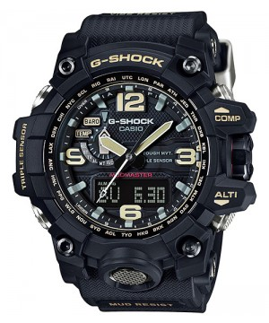 Ceas Casio G-Shock GWG-1000-1AER MUDMASTER MultiBand 6 Solar Triple Sensor Version 3