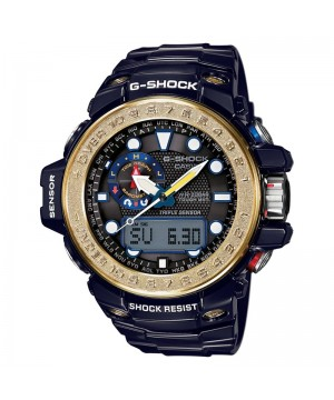 Ceas barbatesc Casio G-Shock GWN-1000F-2AER Gulfmaster MultiBand 6 Solar Triple Sensor Version 3 Smart Access (GWN-1000F-2AER) oferit de magazinul Japora
