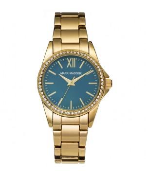 Ceas dama Mark Maddox MM3015-27 Golden Chic (MM3015-27) oferit de magazinul Japora