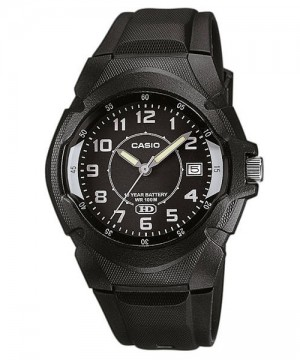 Ceas barbatesc Casio Standard MW-600B-1B Analog: 10-Year Battery Life