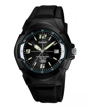 Ceas barbatesc Casio Standard MW-600F-1A Analog: 10-Year Battery Life