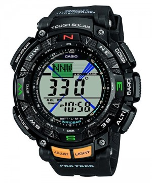 Ceas Casio Pro Trek PRG-240-1 Saltoro Kangri Triple Sensor Solar (PRG-240-1ER) oferit de magazinul Japora