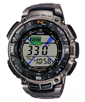 Ceas Casio Pro Trek PRG-240T-7ER Saltoro Kangri Triple Sensor Solar (PRG-240T-7ER) oferit de magazinul Japora