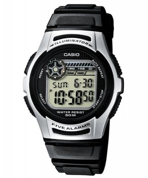 Ceas barbatesc Casio STANDARD W-213-1A Digital: Sporty Digital (10-Year battery)