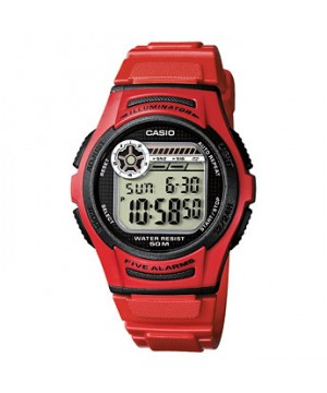 Ceas barbatesc Casio STANDARD W-213-4A Digital: Sporty Digital (10-Year battery)