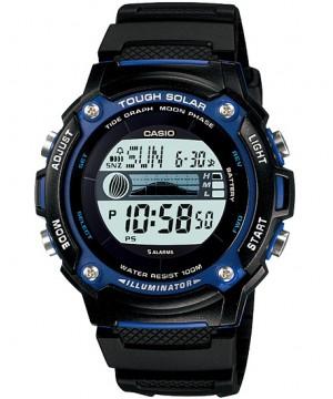 Ceas Casio STANDARD W-S210H-1A Digital: Sporty Digital Tough Solar (W-S210H-1AVEF) oferit de magazinul Japora