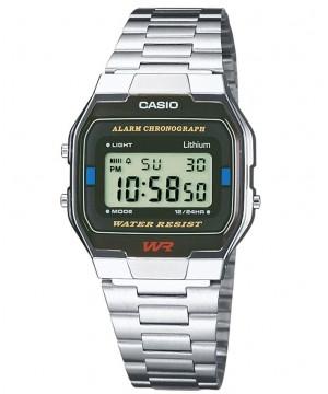 Ceas unisex Casio STANDARD A163WA-1Q Retro (A163WA-1QES) oferit de magazinul Japora