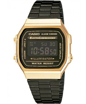 Ceas unisex Casio Standard A168WEGB-1BEF Retro