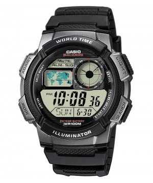 Ceas barbatesc Casio Standard AE-1000W-1B Sporty Digital 10-Year Battery Life