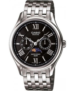 Ceas barbatesc Casio Beside BEM-312D-1AVDF Moon Phase