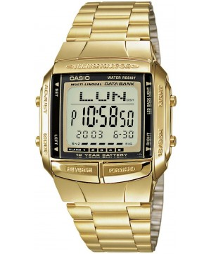 Ceas unisex Casio Data Bank DB-360G-9ADF 10-Year Battery Life Retro