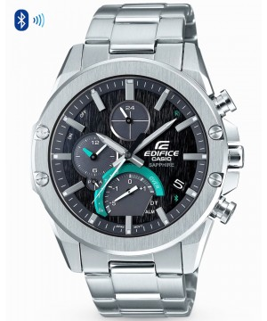 Ceas barbatesc Casio Edifice EQB-1000D-1AER Bluetooth Smart Solar Sapphire