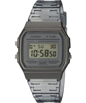 Ceas unisex Casio Standard F-91WS-8EF Digital