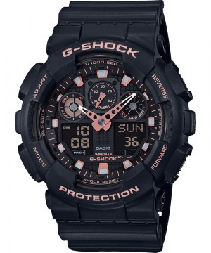 Ceas barbatesc Casio G-Shock GA-100GBX-1A4ER Black and Gold