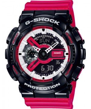 Ceas barbatesc Casio G-Shock GA-110RB-1AER RED and BLACK Series