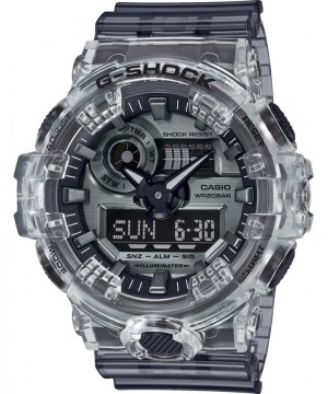 Ceas barbatesc Casio G-Shock GA-700SK-1AER Transparent Black