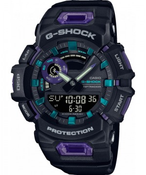 Ceas barbatesc Casio G-Shock GBA-900-1A6ER G-SQUAD Bluetooth (GBA-900-1A6ER) oferit de magazinul Japora