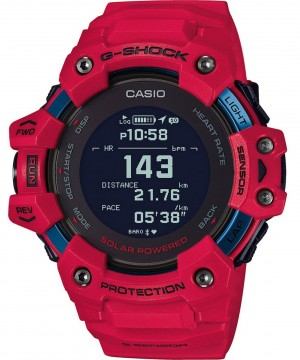 Ceas barbatesc Casio G-shock GBD-H1000-4ER G-SQUAD Solar 5-SENSOR Heart Rate Monitor and GPS for Workouts (GBD-H1000-4ER) oferit de magazinul Japora