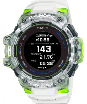 Ceas barbatesc Casio G-shock GBD-H1000-1A4ER G-SQUAD Solar 5-SENSOR Heart Rate Monitor and GPS for Workouts (GBD-H1000-7A9ER) oferit de magazinul Japora