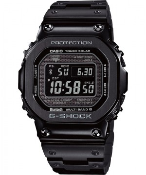 Ceas barbatesc Casio G-Shock GMW-B5000GD-1ER Bluetooth MultiBand 6 Tough Solar