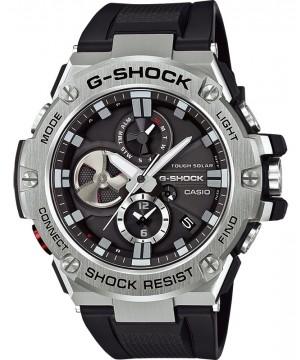 Ceas barbatesc Casio G-Shock GST-B100-1AER Bluetooth Tough Solar G-STEEL (GST-B100-1AER) oferit de magazinul Japora