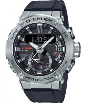 Ceas barbatesc Casio G-Shock GST-B200-1AER Bluetooth Tough Solar G-STEEL