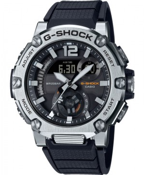 Ceas barbatesc Casio G-Shock GST-B300S-1AER Bluetooth Tough Solar G-STEEL