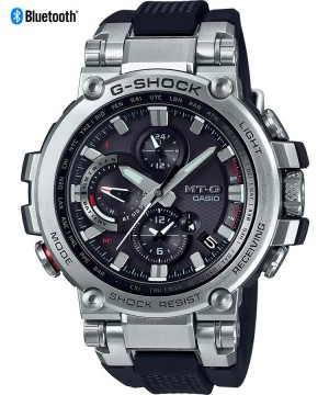 Ceas barbatesc Casio G-Shock MTG-B1000-1AER Bluetooth MultiBand 6 Triple G Resist Tough Solar