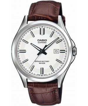 Ceas barbatesc Casio Standard MTS-100L-7AVEF Safir 10-Year Battery Life