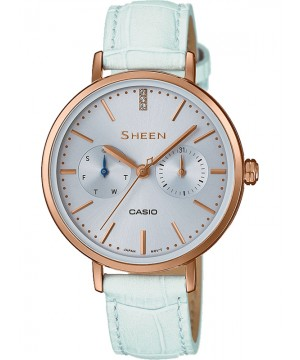 Ceas dama Casio Sheen SHE-3054PGL-2AUER MADE WITH SWAROVSKI CRYSTALS (SHE-3054PGL-2AUER) oferit de magazinul Japora