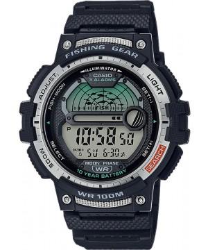 Ceas barbatesc Casio OUTGEAR WS-1200H-1AVEF Fishing Gear 10-Year Battery Life pentru pescuit