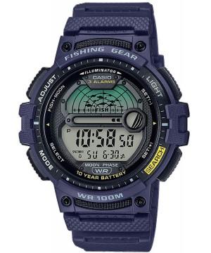 Ceas barbatesc Casio OUTGEAR WS-1200H-2AVEF Fishing Gear 10-Year Battery Life pentru pescuit