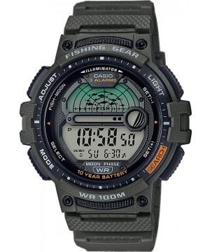 Ceas barbatesc Casio OUTGEAR WS-1200H-3AVEF Fishing Gear 10-Year Battery Life pentru pescuit (WS-1200H-3AVEF) oferit de magazinul Japora