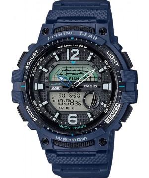 Ceas barbatesc Casio OUTGEAR WSC-1250H-2AVEF Fishing Gear pentru pescuit