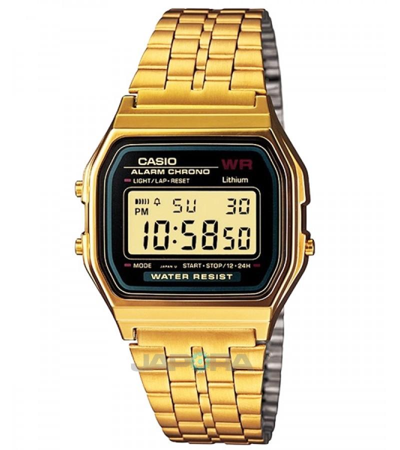 Ceas unisex Casio Standard A159WGEA-1EF Retro (A159WGEA-1EF) oferit de magazinul Japora