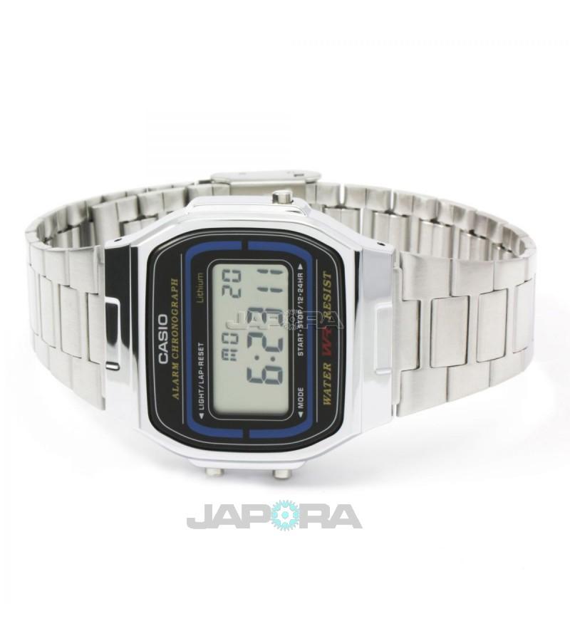 Ceas unisex Casio STANDARD A164WA-1VES Retro (A164WA-1VES) oferit de magazinul Japora