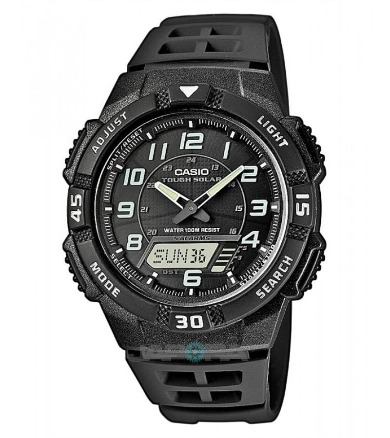 Ceas barbatesc Casio Standard AQ-S800W-1B Digital-Analog: Solar (AQ-S800W-1BVEF) oferit de magazinul Japora