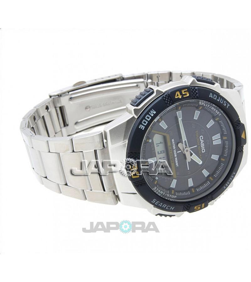 Ceas barbatesc Casio Standard AQ-S800WD-1E Digital-Analog: Solar (AQ-S800WD-1EVEF) oferit de magazinul Japora
