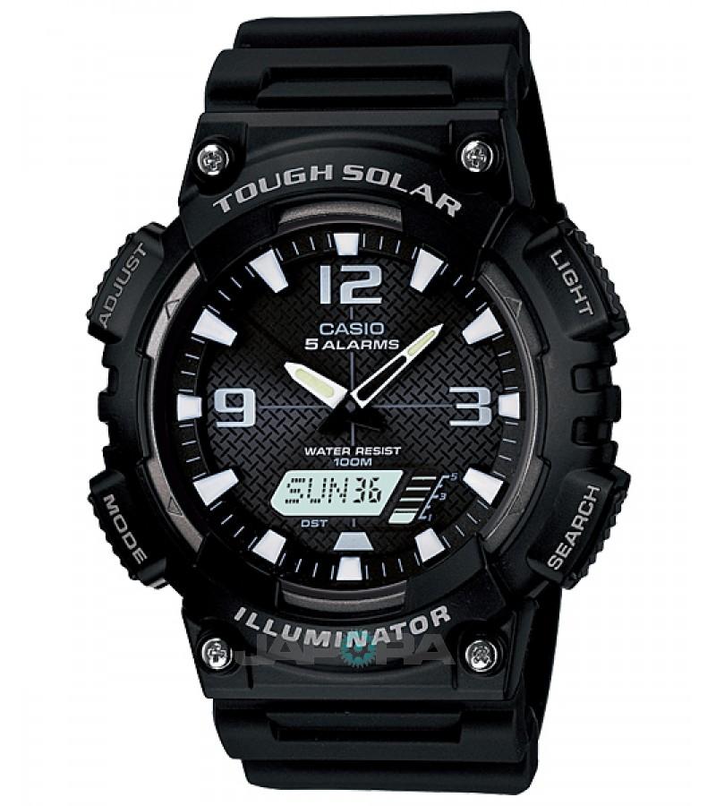 Ceas barbatesc Casio Standard AQ-S810W-1A Digital-Analog: Solar (AQ-S810W-1AVEF) oferit de magazinul Japora