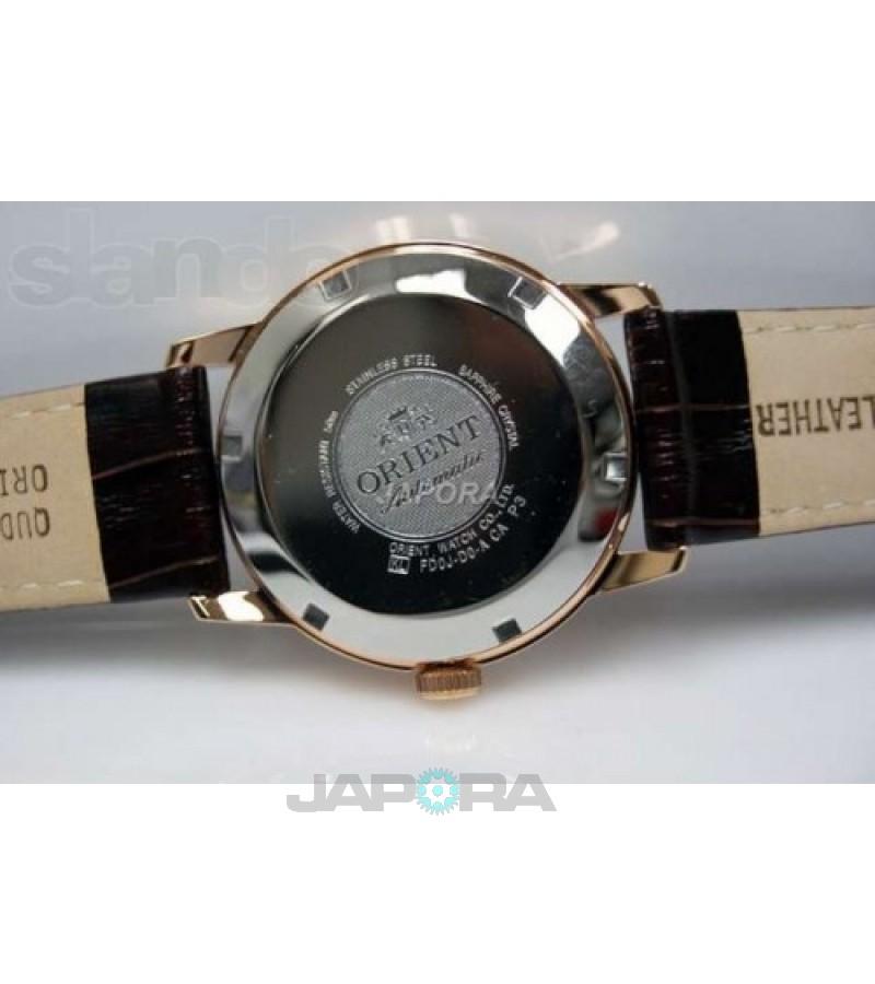 Ceas barbatesc Orient FFD0J001W0 Automatic POWER RESERVE (FFD0J001W0) oferit de magazinul Japora