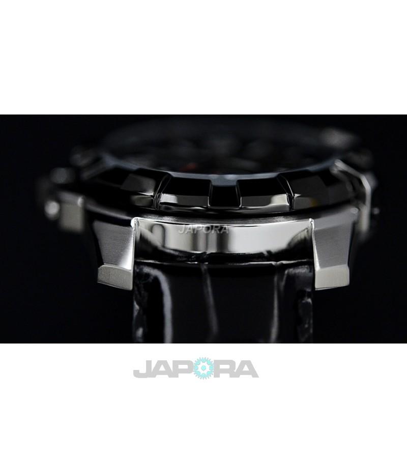 Ceas barbatesc Orient FFT03004B0 Automatic POWER RESERVE SEMI-SKELETON (FFT03004B0) oferit de magazinul Japora