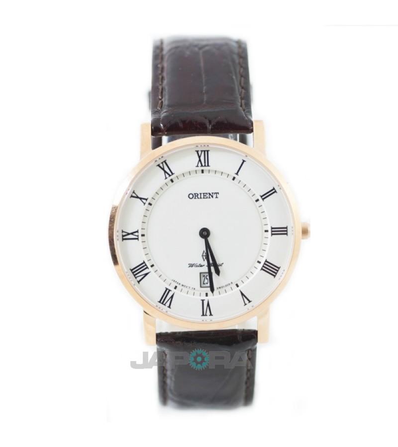 Ceas barbatesc Orient FGW0100EW0 Quartz Dressy Slim (FGW0100EW0) oferit de magazinul Japora